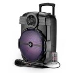 Cassa audio amplificato smart sonic 12 600 watt con microfono