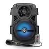Cassa audio amplificato smart sonic 08 400 watt con microfono