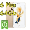 """(refurbished) iphone 6 plus 64gb oro a8 wifi bluetooth 4g apple mgaj2qn/a 5.5"""" gold"""
