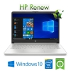 "(refurbished) notebook hp 14-dq1007nl intel core i5-1035g1 1.0 ghz 8gb 512gb ssd 14"" fhd ips windows 10 home"