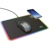 Mouse pad gxt 750 qlide rgb con ricarica wireless (23184)