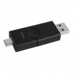 Pen drive 64gb usb 3.2 kingston dtde/64gb duo usb e usb type-c