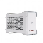 Mastercase nc100 white, intel nuc 9 extreme compute element compatible,con psu v gold sfx 650w,ultra compatto,argb controller