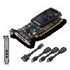 Vga pny nvidia quadro p400 v2 2gb 3*mini dp con adatt.