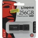 Pen drive 256gb usb 3.1 kingston datatraveler dt100g3/256gb