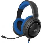 "Cuffie gaming con microfono corsair hs35 jack 3,5"" blue"