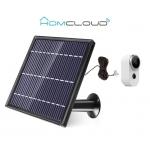 Pannello solare con microusb per telecamera homcloud free4