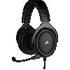 "Cuffie gaming con microfono corsair hs50 pro jack 3,5"" carbon"