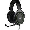 "Cuffie gaming con microfono corsair hs50 pro jack 3,5"" green"