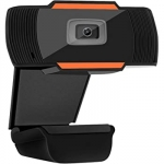 "Webcam tecno hd 1280x720p 30fps usb+jack 3,5"" con microfono"