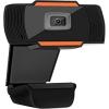 "Webcam tecno hd 1280x720p 30fps usb+jack 3,5"" con microfono"