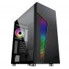 Case atx itek majes 30 gaming 1*argb fan glass(l) no psu