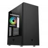 Case atx itek vertibra s210 gaming 1fan argb glass (l) no psu