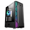 Case atx itek vertibra x210 gaming 1fan argb glass (l) no psu