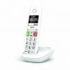 Telefono cordless gigaset e290 bianco numeri grandi