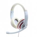 Cuffie microfono mhs-03-wtrd bianco
