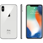 Smartphone ric. apple iphone x 256gb silver grado a