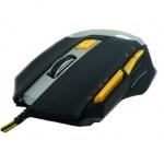 Mouse gaming usb 7 tasti retroilluminato gommato gammec gm1