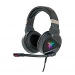"""Cuffie gaming con microfono itek h410 7 colori led usb e 2*3,5"""""""