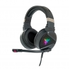 Cuffie gaming con microfono itek h410 7 colori led usb e 2*3,5""
