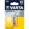 Batterie monouso 9v superlife (6f22)