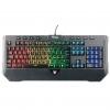 Tastiera gaming itek q11 a membrana rgb multimediale