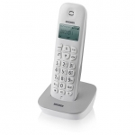 Telefono cordless dect brondi gala bianco/grigio rubrica