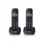 Telefono cordless dect brondi gala twin nero