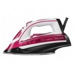 Ferro da stiro a vapore bxir2602e 2600w rosa/nero