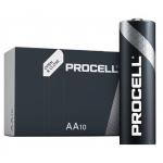Batterie procell by duracell alcaline stilo aa lr06 10pz