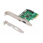 Controller pci-express + usb type-c + usb type -a ((ds-30225)