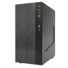Case m-atx smallcom-b itek usb 3.0 black brushed no psu