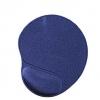 Mouse pad gel con poggia polso blu (mp-gel-b)