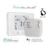Cronotermostato digitale wifi homecloud con ricevitore rf