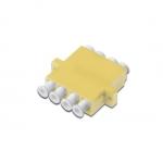 Accoppiatore fibra ottica quad digitus lc / lc (4-porte), multimode