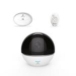 Telecamera sorveglianza c6t-rf white modulo allarme - motorizzata wireless (cs-cv248-a0-32wmfr)