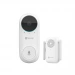 Videocampanello wifi doorbell fhd con suoneria - pir visione notturna audio bidirezionale cs-db2cezviz cs-db2c wireless