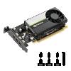Vga pny nvidia quadro t400 4gb low profile 3*mini dp con adatt.