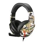 Cuffie gaming techmade tm-fl1-bl con microfono camouflage