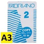 Carta a3 copy 2 80 gr./m - 500 fogli