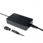Alimentatore universale per notebook - 65w, 8 connettori, silm design