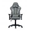 Cooler master gaming chair caliber r1s dark knight camo,black camo,pu traspirante,reclinabile da 90 a 180