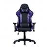 Cooler master gaming chair caliber r1s cm camo,purple camo,pu traspirante,reclinabile da 90 a 180