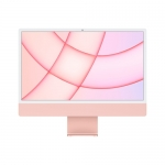 "Apple pc imac 24"" pink with retina 4,5k, apple m1 chip with 8 core cpu + 8 core gpu, 8gb 256gb"