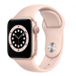Apple watch series 6 gps 40mm gold aluminium case with pink sand sport band