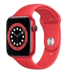Apple watch series 6 gps 44mm product red alluminium case with sport band regular