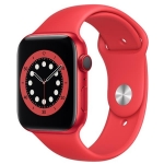 Apple watch series 6 gps+cellular 40mm product red alluminium case with sport band regular