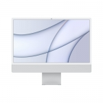 "Apple pc imac 24"" silver with retina 4,5k, apple m1 chip with 8 core cpu + 8 core gpu, 8gb 256gb"