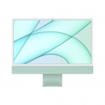 "Apple pc imac 24"" green with retina 4,5k, apple m1 chip with 8 core cpu + 8 core gpu, 8gb 256gb"