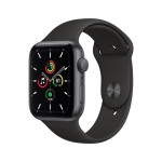 Apple watch se gps 44mm alu+black spobsnd space gray regular